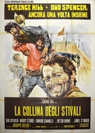La collina degli stivali - Italian Movie Poster (xs thumbnail)