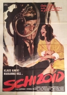 Schizoid - Italian Movie Poster (xs thumbnail)
