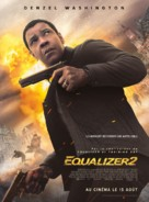 The Equalizer 2 - French Movie Poster (xs thumbnail)