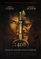1408 - Dutch Movie Poster (xs thumbnail)