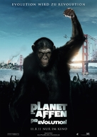 Rise of the Planet of the Apes - German Movie Poster (xs thumbnail)