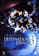 Final Destination 3 - French DVD movie cover (xs thumbnail)