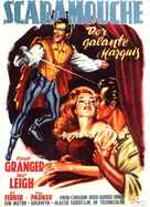 Scaramouche - German Movie Poster (xs thumbnail)