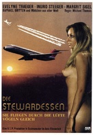 Die stewardessen - German Movie Poster (xs thumbnail)