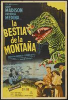 The Beast of Hollow Mountain - Mexican Movie Poster (xs thumbnail)
