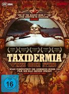 Taxidermia - German DVD cover (xs thumbnail)