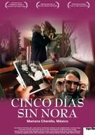 Cinco días sin Nora - Swiss Movie Poster (xs thumbnail)