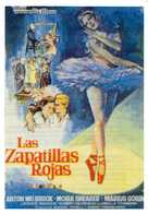 The Red Shoes - Spanish Movie Poster (xs thumbnail)
