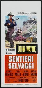 The Searchers - Italian Movie Poster (xs thumbnail)