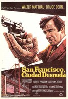 The Laughing Policeman - Spanish Movie Poster (xs thumbnail)