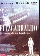 Fitzcarraldo - Spanish DVD movie cover (xs thumbnail)