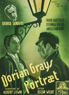 The Picture of Dorian Gray - Danish Movie Poster (xs thumbnail)