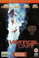 Vertical Limit - British DVD movie cover (xs thumbnail)