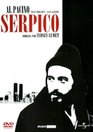 Serpico - Italian DVD movie cover (xs thumbnail)