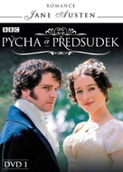 """Pride and Prejudice"" - Czech DVD movie cover (xs thumbnail)"
