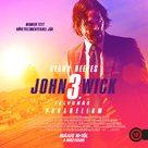John Wick: Chapter 3 - Parabellum - Hungarian poster (xs thumbnail)