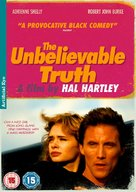 The Unbelievable Truth - British DVD movie cover (xs thumbnail)