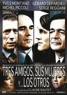 Vincent, François, Paul... et les autres - Spanish DVD cover (xs thumbnail)
