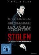 Stolen - German DVD cover (xs thumbnail)