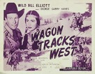 Wagon Tracks West - Movie Poster (xs thumbnail)
