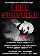 Blue Sunshine - German Movie Poster (xs thumbnail)