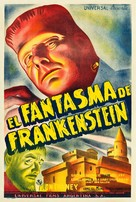 The Ghost of Frankenstein - Argentinian Theatrical poster (xs thumbnail)