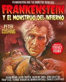 Frankenstein and the Monster from Hell - Spanish Movie Cover (xs thumbnail)