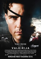 Valkyrie - Lithuanian Movie Poster (xs thumbnail)