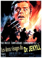 The Two Faces of Dr. Jekyll - French Movie Poster (xs thumbnail)