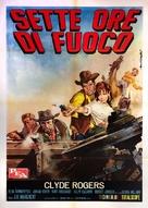 Aventuras del Oeste - Italian Movie Poster (xs thumbnail)