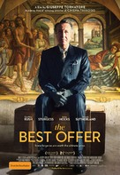 La migliore offerta - Australian Movie Poster (xs thumbnail)