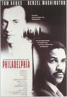 Philadelphia - German Movie Poster (xs thumbnail)