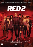 RED 2 - Croatian DVD movie cover (xs thumbnail)