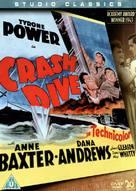 Crash Dive - British Movie Cover (xs thumbnail)