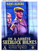 Der Mann, der Sherlock Holmes war - French Movie Poster (xs thumbnail)
