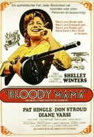 Bloody Mama - German Movie Poster (xs thumbnail)