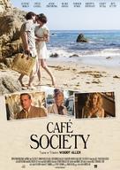 Café Society - Turkish Movie Poster (xs thumbnail)