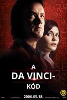 The Da Vinci Code - Hungarian Movie Poster (xs thumbnail)