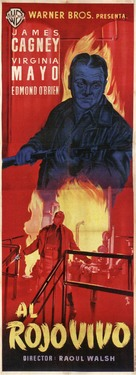 White Heat - Spanish Movie Poster (xs thumbnail)