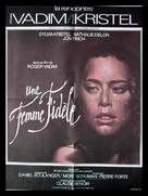 Une femme fidèle - French Movie Poster (xs thumbnail)