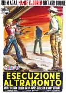 Star in the Dust - Italian Movie Poster (xs thumbnail)