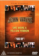 She Wore a Yellow Ribbon - Australian DVD cover (xs thumbnail)