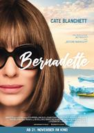 Where'd You Go, Bernadette - German Movie Poster (xs thumbnail)