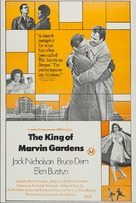The King of Marvin Gardens - Australian Movie Poster (xs thumbnail)