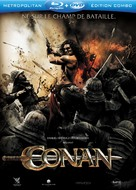 Conan the Barbarian - French Blu-Ray cover (xs thumbnail)