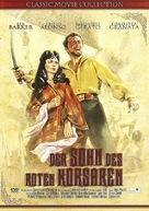 Il figlio del corsaro rosso - German DVD cover (xs thumbnail)