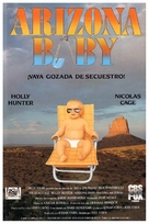 Raising Arizona - Spanish Movie Poster (xs thumbnail)