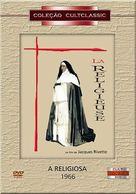 La religieuse - Brazilian DVD cover (xs thumbnail)
