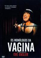 The Vagina Monologues - Brazilian Movie Cover (xs thumbnail)