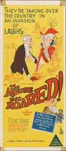 The Mouse That Roared - Australian Theatrical movie poster (xs thumbnail)
